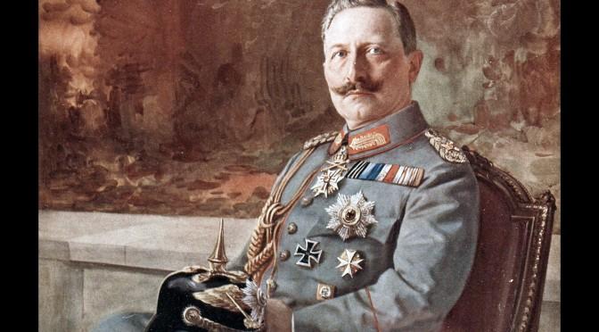 """14. august 1918. """"Pak kufferten, Augusta!"""" Tyske soldater ønsker kejseren væk!"""