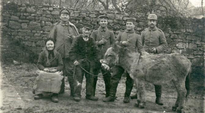 """22. januar 1916. """"Nix kompra, madame!"""""""
