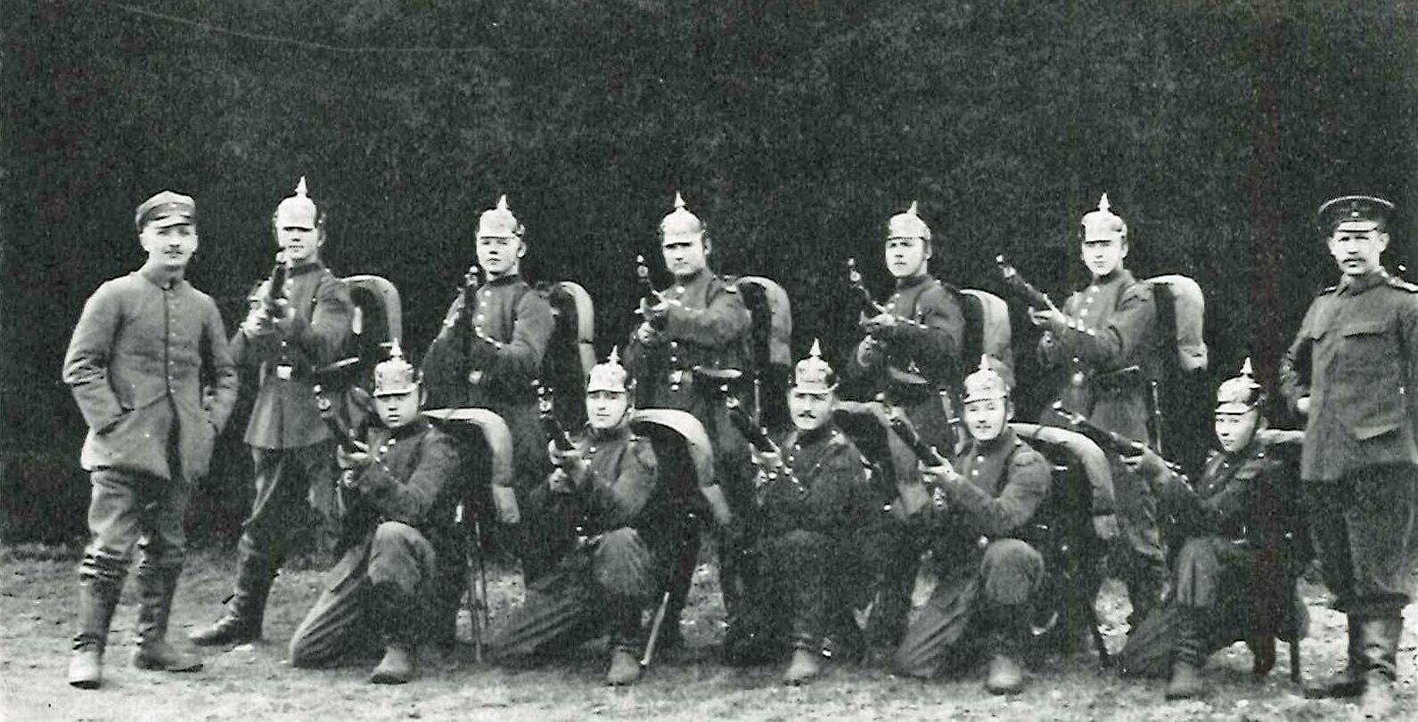 Danes In The German Army 1914 1918 Den Store Krig 1914 1918