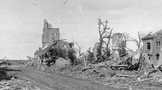 13. august 1917. Livsfarlig hvilestilling
