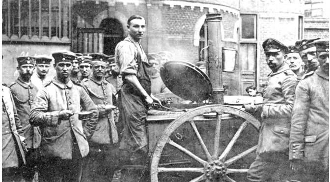 """18. juli 1916. Hvide bønner giver """"gasangreb"""" ved Verdun"""
