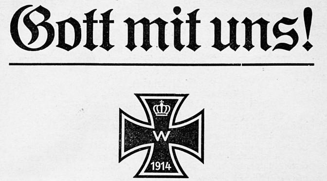3. august 1914. Tyskland erklærer krig mod Frankrig