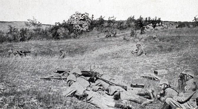 18. januar 1916. Ved Loretto: Snigskytte med kikkertsigte