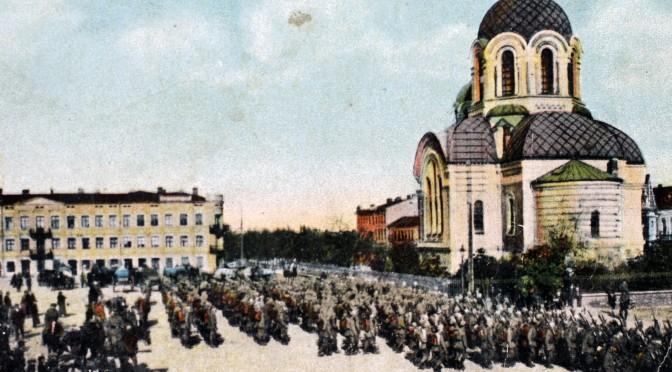 27. januar 1916. Kejserfødselsdag på glatis