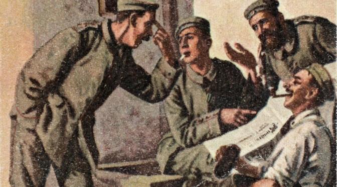 4. januar 1916. Den dumme narrer den kloge …