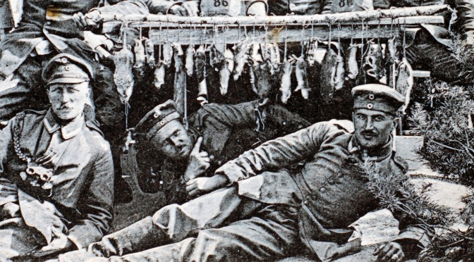 23. januar 1916. Rotter i Lievin