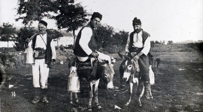 """12. februar 1916. I Makedonien: """"Mahomedanerne driver jo alt efter deres Stilling og Formue Flerkoneriet."""""""