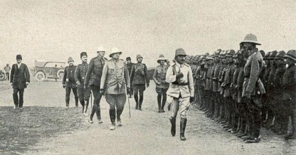 27. marts 1917. På inspektionsrejse til Aleppo