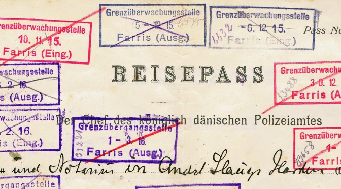 4. april 1917. Kun i præstegården smugles ikke – tror præsten i hvert fald!