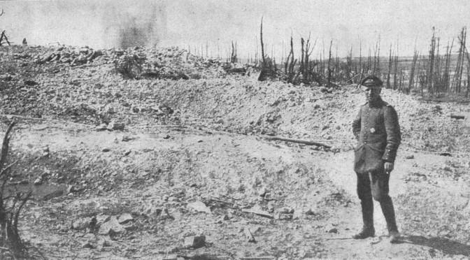 26. september 1916. Jeg går det i møde tryg og uden gru