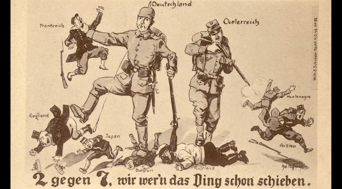 """29. juli 1914. Soldaterbrev fra Jeppe Østergård: """"Lavinen er begyndt at rulle …"""""""