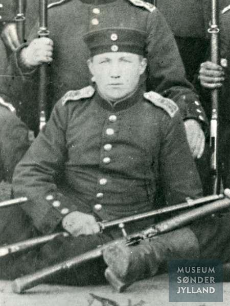 Jørgen Hansen (1893-1916) Elstrup, Egen