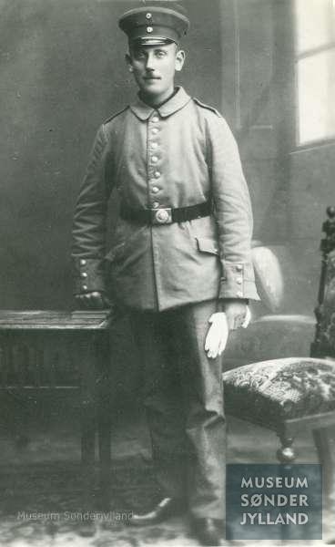 Jørgen Christensen (1891-1916) Høruphav, Hørup