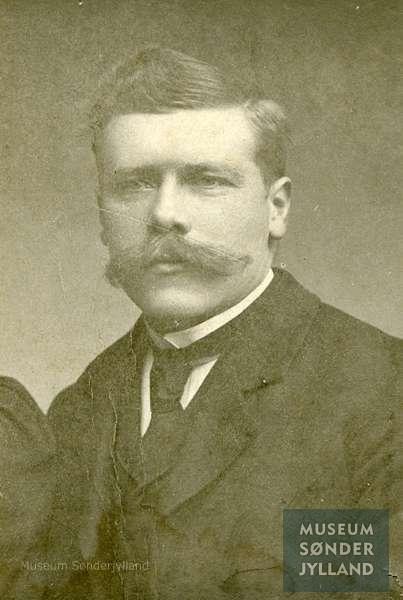 Otto Christensen (1884-1916) Mjels, Oksbøl