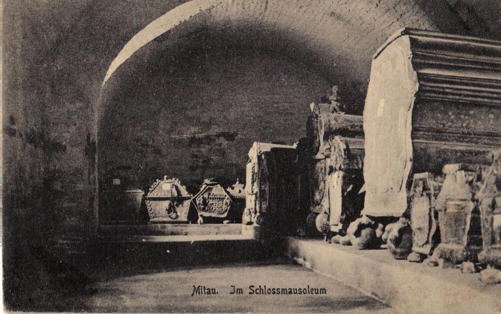 1916-01-02_LIR84_Wagner_Mitau. Im Schlossmausoleum