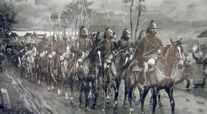 9. september 1914. Regiment 86 på tilbagetog