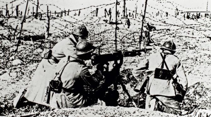 """13. maj 1916. Ved Højde 304: """"Fjenden angriber! Skyd!"""""""