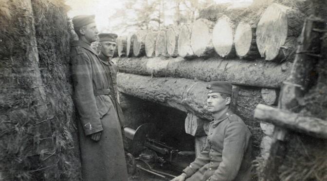 28. februar 1916. K. Tastesen på Østfronten: Alt roligt …