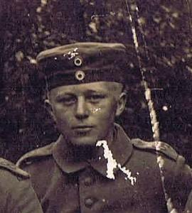 """Hans Petersen Lindholm er omtalt i bogen """"Dansksindet under ørnebanneret"""", der handler om vennen Johannes A. Christensen. Originalfoto i privateje."""