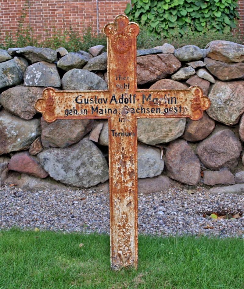Mindekors, Lindtrup Kirkegård