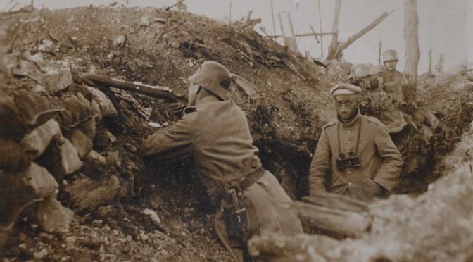 "18. oktober 1916. Verdun: ""Vi ligger kun 15-20 meter fra franskmanden …"""