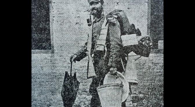 31. oktober 1914. 86'erne flytter – men ikke så langt.