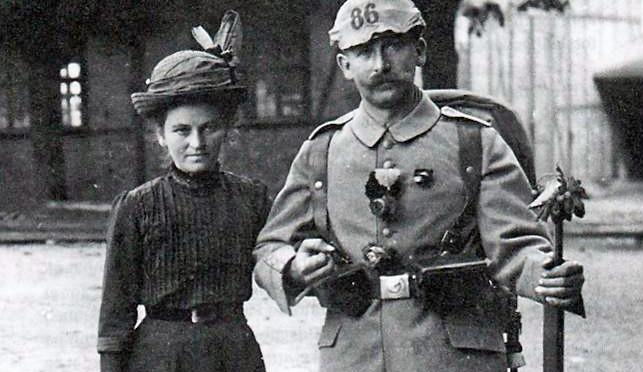 26. maj 1916. Peter Rossen kommer for sent tilbage fra orlov