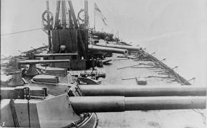 HMS_Dreadnought_Aft_Turrets