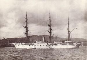 korvetten_SMS_Gneisenau_1879_1900