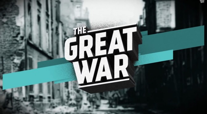 12. januar 1917. Ugens kampe fra The Great War