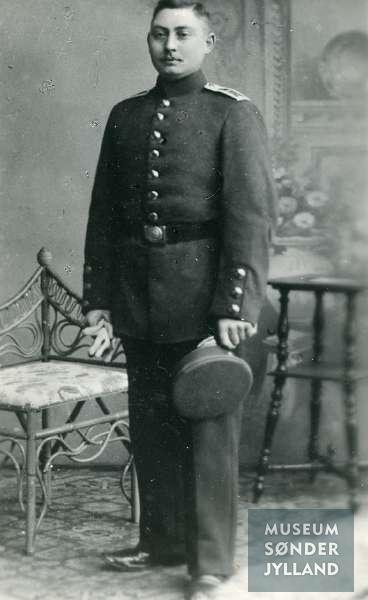 Jens Petersen (1882-1916) Tandslet