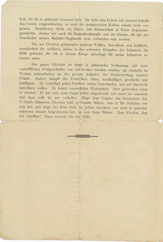 Historisk - N.8.7 - Flyveblade 1 b