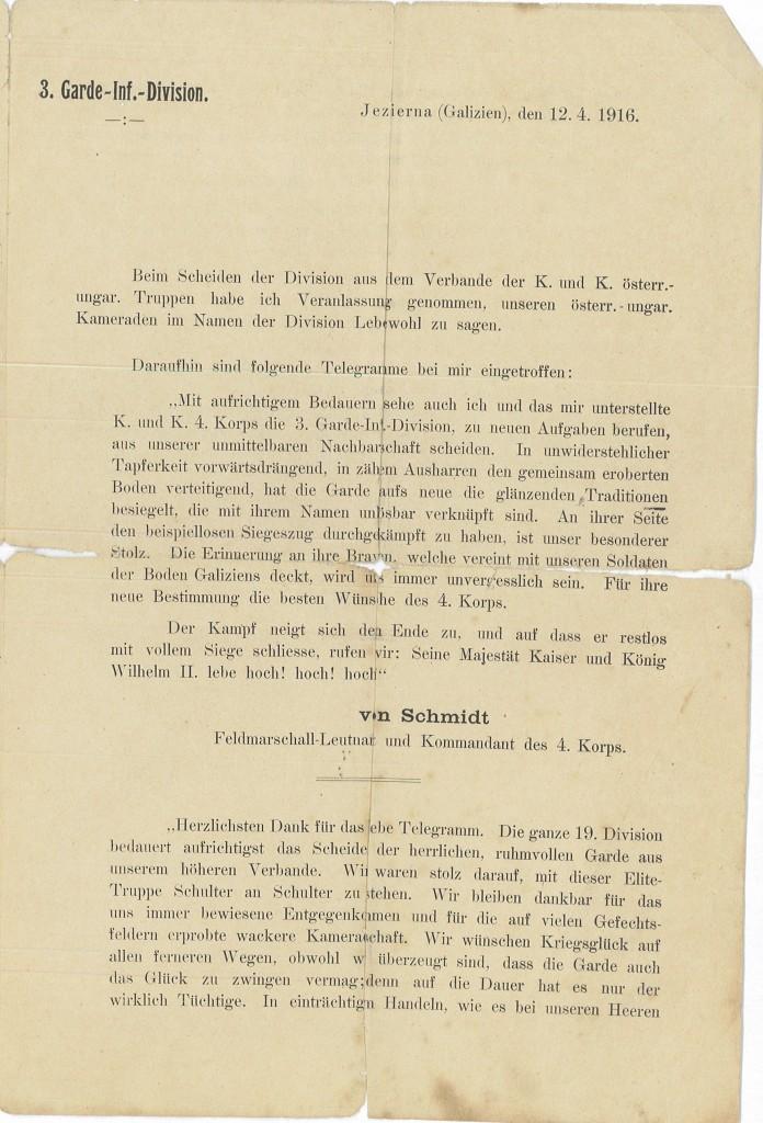 Historisk - N.8.7 - Flyveblade 1 c