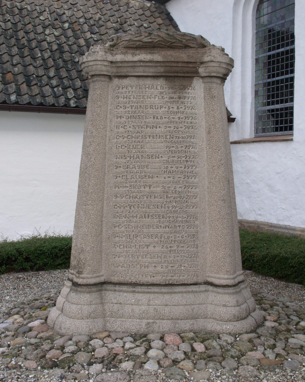 Mindesten, Skodborg Kirkegård
