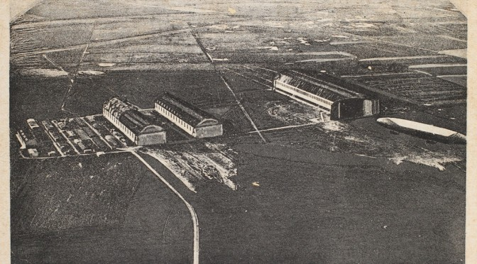 12. april 1918 – Tønder Luftskibsbase: L60 på langfart mod England