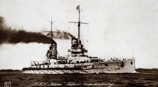 """31. maj 1916. Om bord på SMS Kaiser: """"… med højeste fart fremad og igennem de engelske skibslinjer"""""""