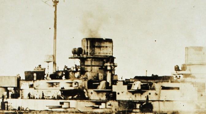 31. maj 1916. Om bord på SMS Kronprinz under Jyllandsslaget