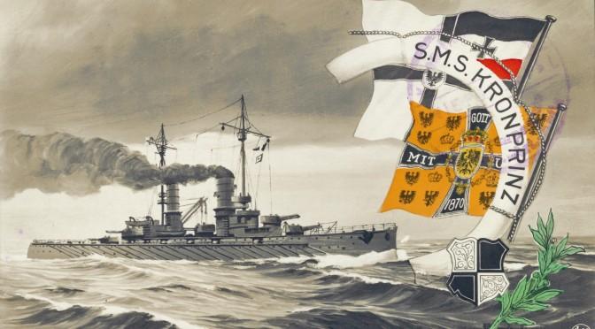 31. maj 1916. Overkanonér Torp kvæstet i Jyllandsslaget