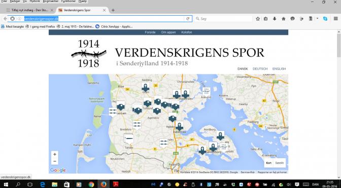 Verdenskrigens spor i Sønderjylland