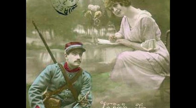 23. juni 1916. Hans Callesen nænner ikke at skyde en franskmand