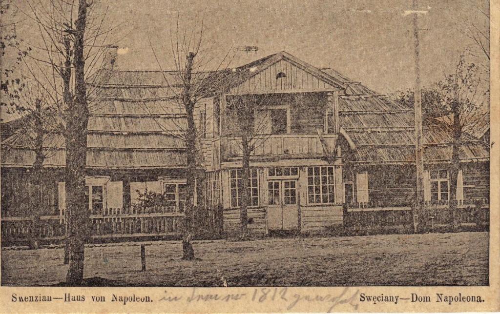 1916-03-28 LIR84 Otto Theodor Wagner - Haus von Napoleon. Sweciany - Dom Napoleona.