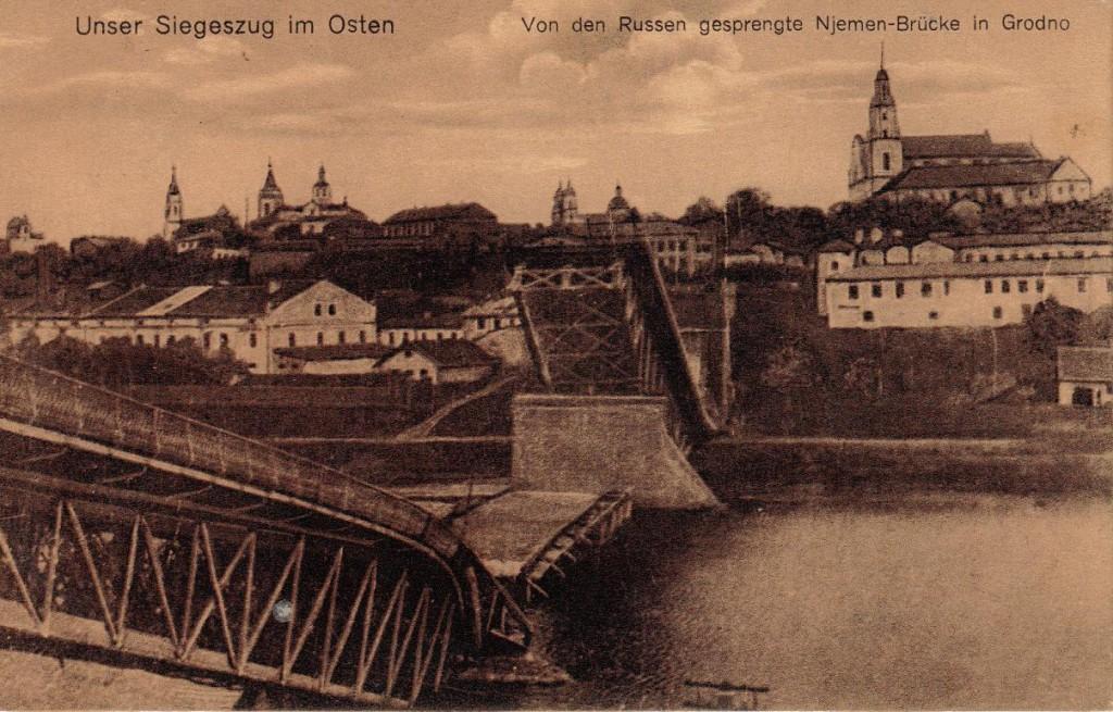 1916-04-28 LIR84 Otto Theodor Wagner - Unser Siegezug im Osten - ...Grodno