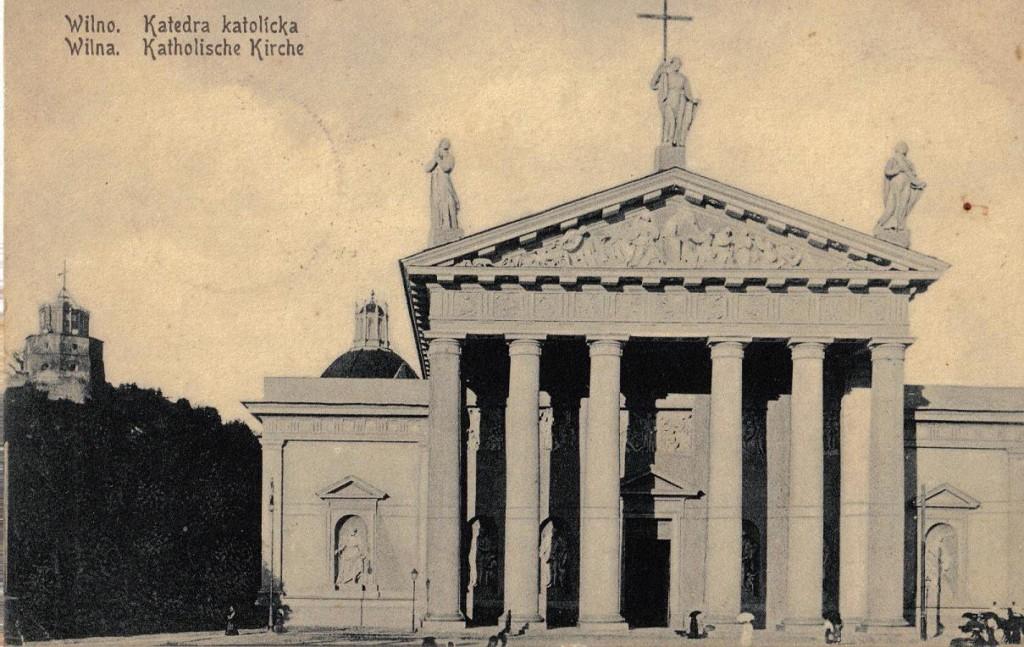 1916-05-02 LIR84 Otto Theodor Wagner - Wilna Katholische Kirche