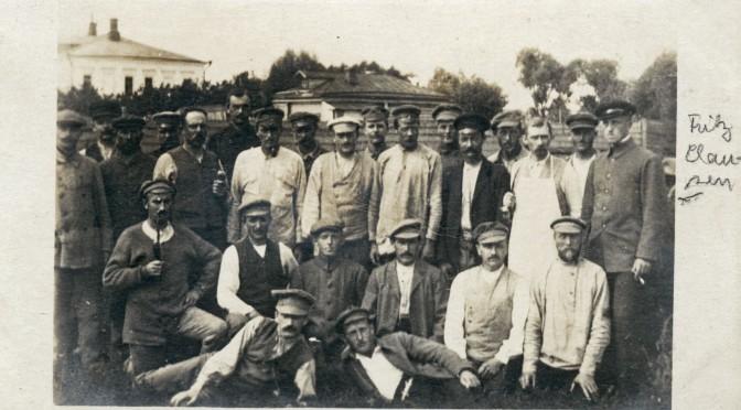 31. august 1916. Frits Clausen håber, at Danmark træder ind i krigen
