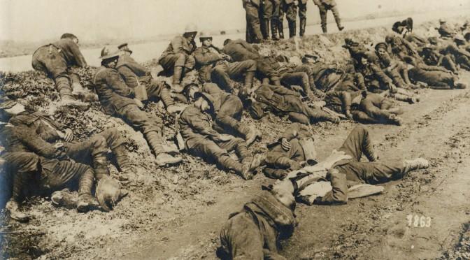 """27. juli 1916. """"Her foran kravler en Englænder rundt; jeg kan ikke skyde ham …"""" Nikolaj Kræmer ved Somme."""