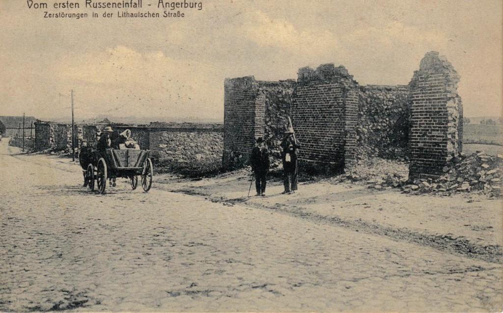 1916-06-01 LIR84 Otto Theodor Wagner - Vom ersten Russeneinfall - Angerburg