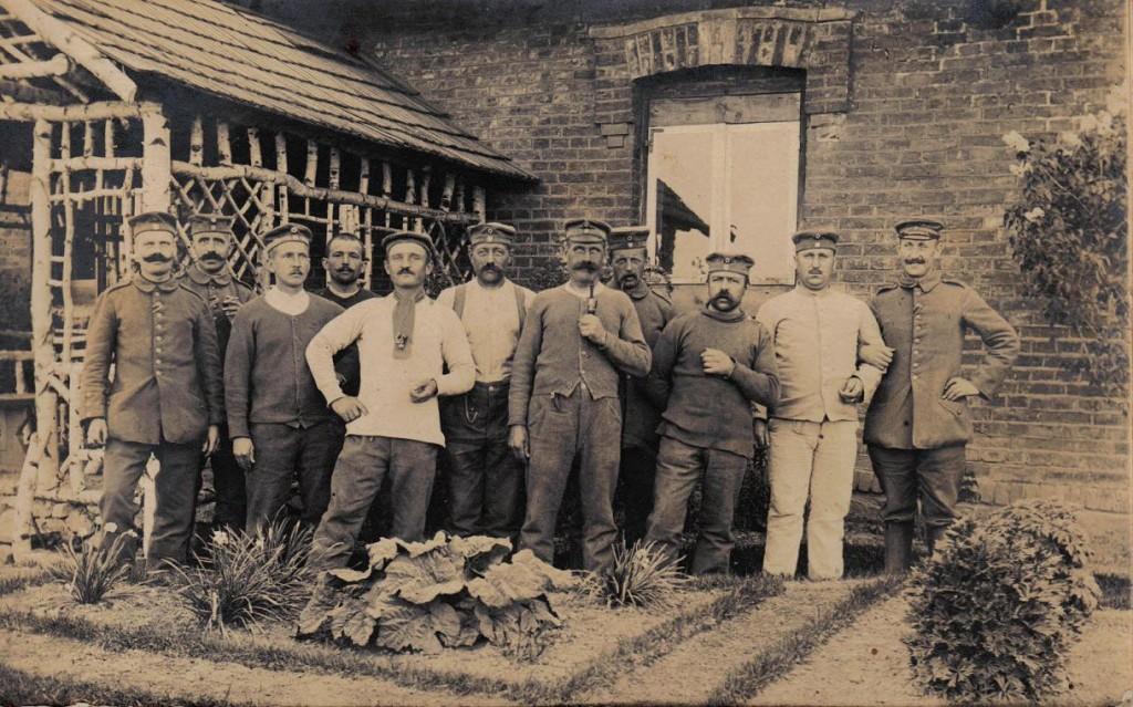 1916-06-22 LIR84 Otto Theodor Wagner - Kameraden der 5. Kompagnie bei Toboly