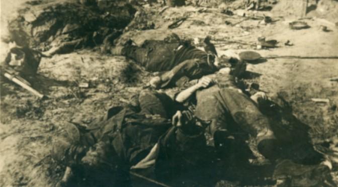 """16. august 1917. Modangreb ved Zonnebeke: """"Englænderne stikker af og efterlader døde og sårede."""""""