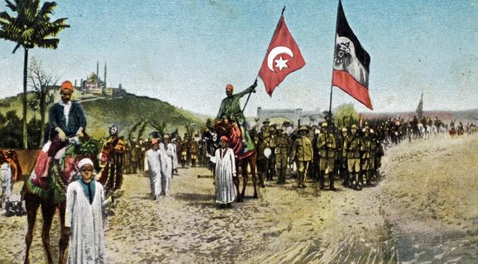 24. juli 1918. Med 3½ million rubler og en rød fez til bøn i Konstantinopel