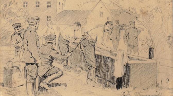 18. juli 1917. Hvid vask med vanskeligheder i Frankrig